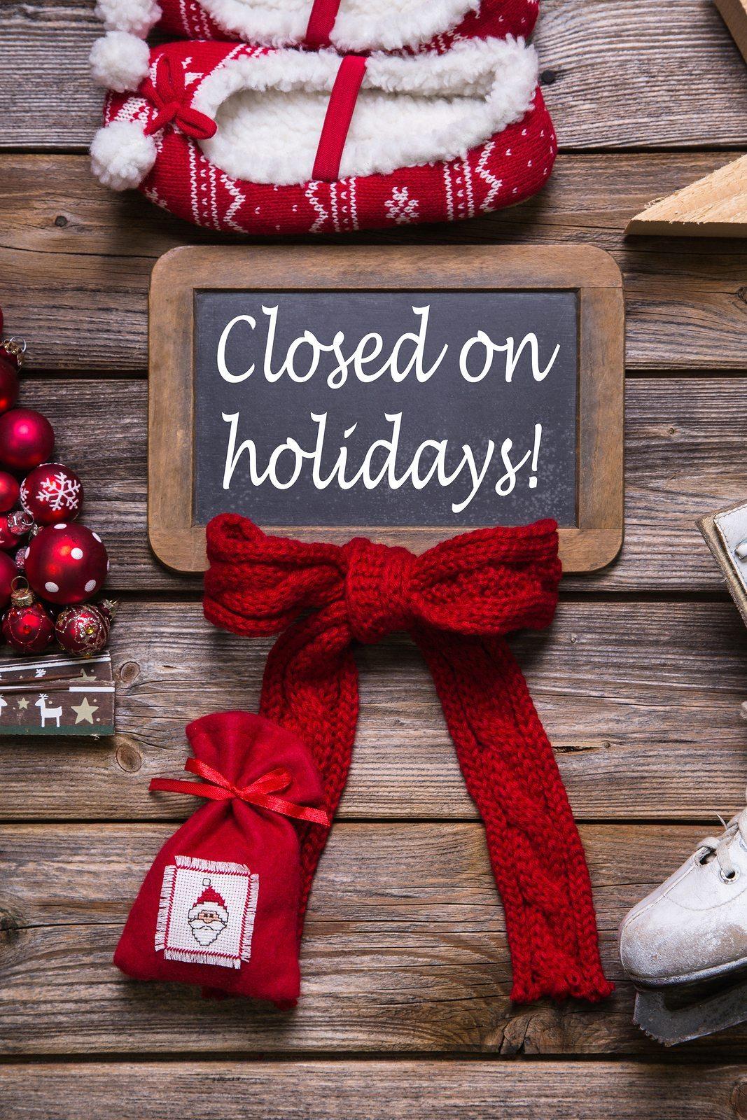 Annual Christmas Shutdown
